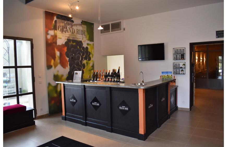 Organic Estate Vineyard- Tasting Cellar
